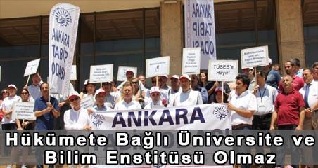Hükümete Bağlı Üniversite Ve Bilim Enstitüsü Olmaz