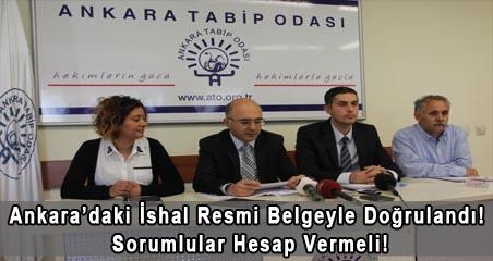 Ankara'daki İshal Resmi Belgeyle Doğrulandı! Sorumlular Hesap Vermeli!