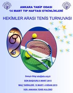 Hekimler Arası Tenis Turnuvası